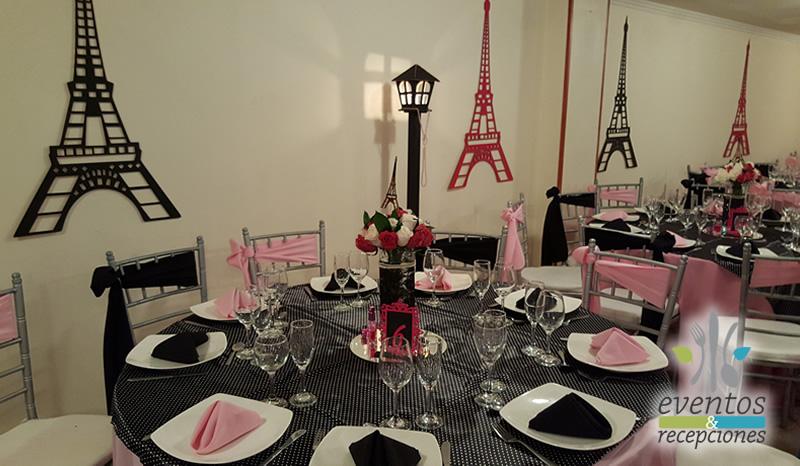 Fotos de eventos y bodas grados empresariales for Decoracion xv anos paris